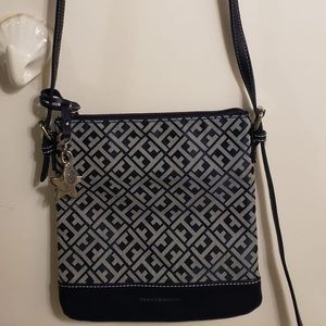 Tommy Hilfiger Printed Navy Crossbody